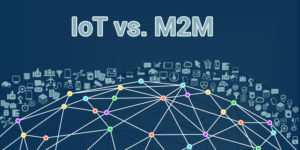 The Major difference between IoT and M2M.